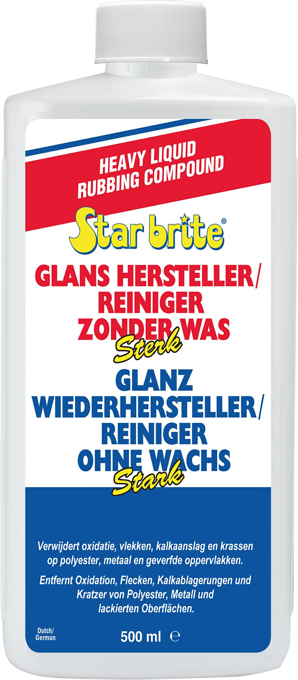 Glans Hersteller zonder Was - Sterk 500 ml